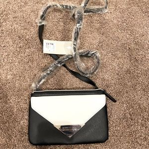 NWT Kenneth Cole Reaction Black and White Purse